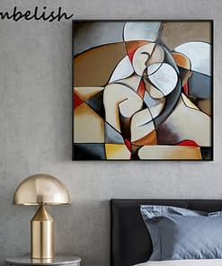 Abstract Dreaming Woman By Picasso Famous Artworks For Living Room Home Decor Pictures HD Canvas Paintings Wall Poster