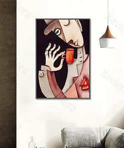 Picasso Abstract Canvas Painting Famous Paintings Art Wall Posters and Prints Home Decoration Living Room Modern Nordic Pictures
