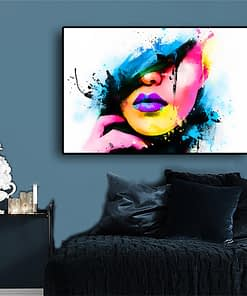 Nordic Style Canvas Pop Art Wall Picture for Living Room