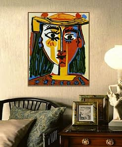 Pablo Picasso -Cubism Wall Art Decor Posters And Prints Wall Art Canvas Painting Living Room Home Decor